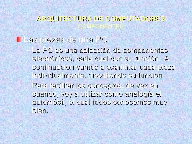D1 Arquitectura Pc