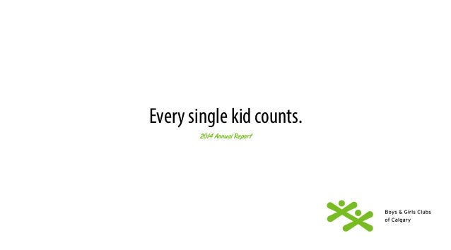 Every single kid counts.