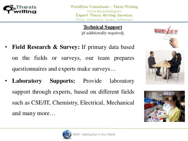 Thesis writing in delhi technical