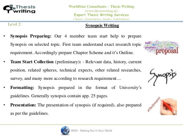 Help in writing thesis guidelines ppt