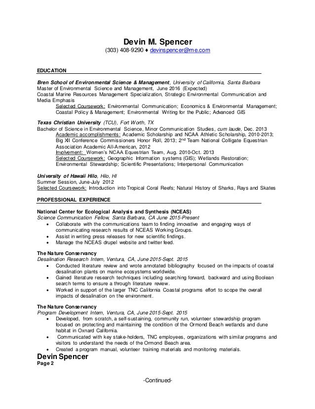 Devin Resume May 2015