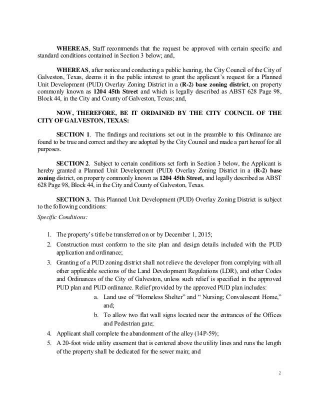 City Council Staff Report Example