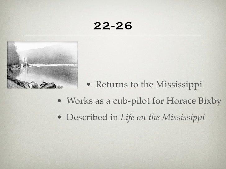 Life on the Mississippi Summary