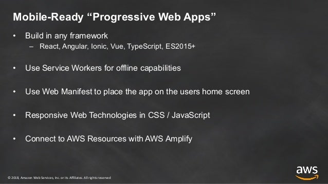 Build a Mobile Ready Progressive Web App with React
