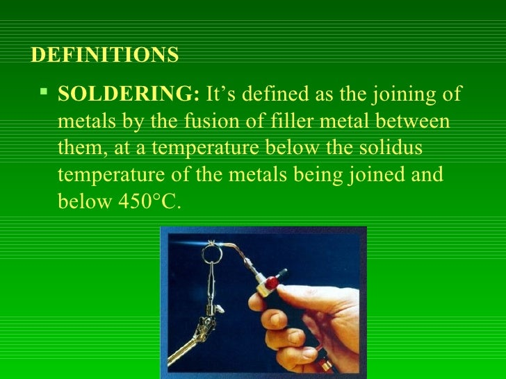 Welding, Cutting, Brazing, Soldering | Environmental, Health and Safety Services define welding soldering