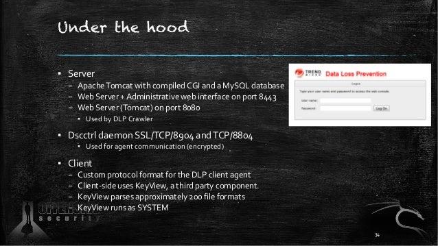Under the hood ▪ Server – ApacheTomcat with compiled CGI and a MySQL database – Web Server + Administrative web interface ...