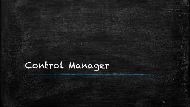 Control Manager 56