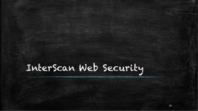 InterScan Web Security 66