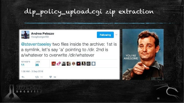 dlp_policy_upload.cgi zip extraction 95