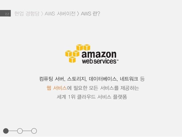 현업 경험담 > AWS 서버이전 > AWS 란?2.2 컴퓨팅 서버, 스토리지, 데이터베이스, 네트워크 등 웹 서비스에 필요한 모든 서비스를 제공하는 세계 1위 클라우드 서비스 플랫폼