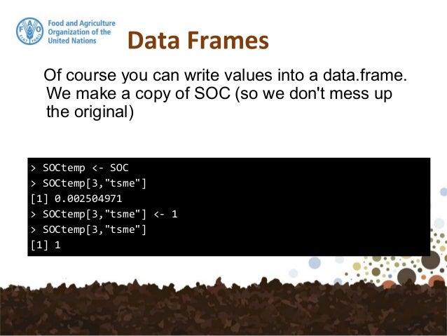 6. Vectors – Data Frames