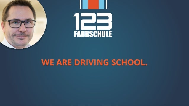 WE ARE DRIVING SCHOOL.