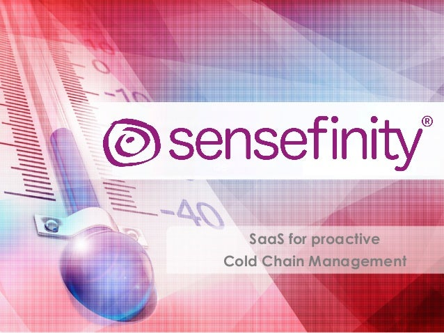 SaaS for proactive Cold Chain Management de