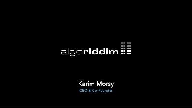 CEO & Co-Founder Karim Morsy