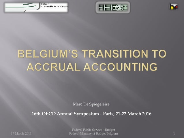 Transition to the accrual accounting