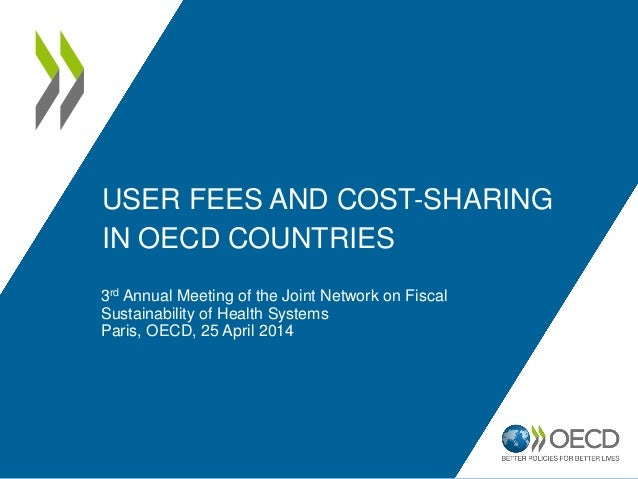 USER FEES AND COST-SHARING IN OECD COUNTRIES 3rd Annual Meeting of the Joint Network on Fiscal Sustainability of Health Sy...