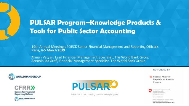PULSAR Program is co-funded by: Public Sector Accounting and Reporting Program PULSAR Program–Knowledge Products & Tools f...