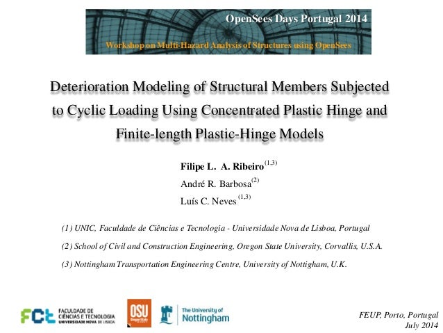 Deterioration Modeling of Structural Members Subjected  to Cyclic Loading Using Concentrated Plastic Hinge and  Finite-len...