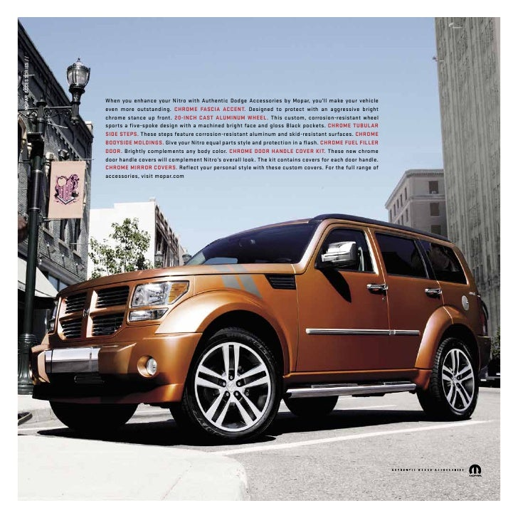 2011 Dodge Nitro Brought To You By Your Mid Atlantic Dodge