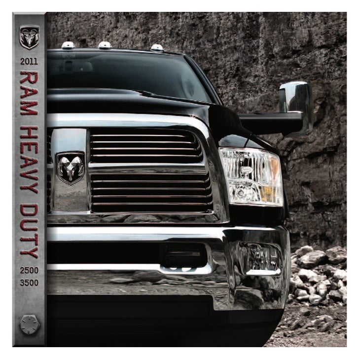 Ram Heavy Duty. It stands out, and it stands up. The truck known for getting the job done on work sites and boat launches ...