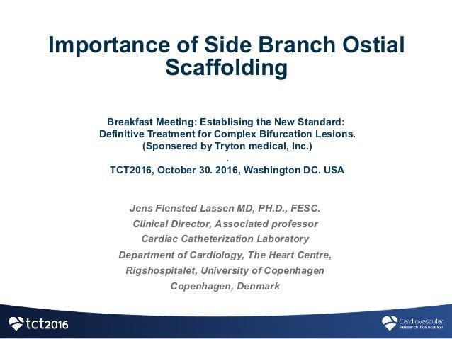 Jens Flensted Lassen MD, PH.D., FESC. Clinical Director, Associated professor  Cardiac Catheterization Laboratory ...