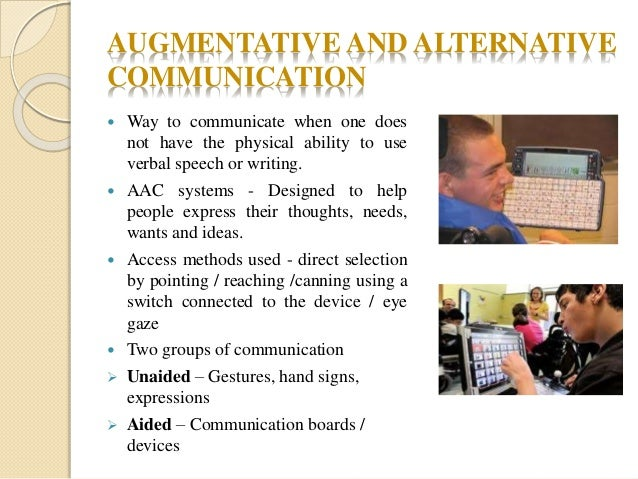 augmentative communication systems sign languages pecs essay Language, and communication has typically included picture exchange systems (pecs) is a less expensive manual augmentative communication system consisting of.