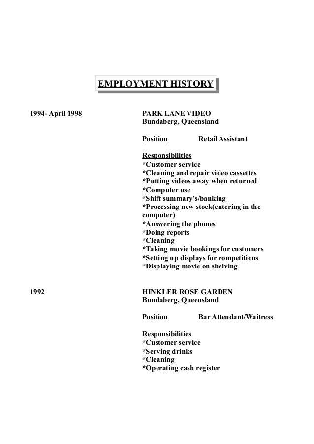 wendy u0026 39 s resume