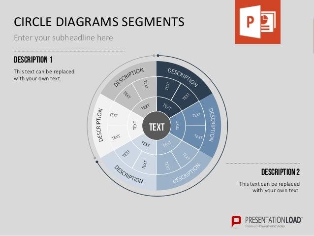 Circle diagram toolbox powerpoint template circle toneelgroepblik Gallery
