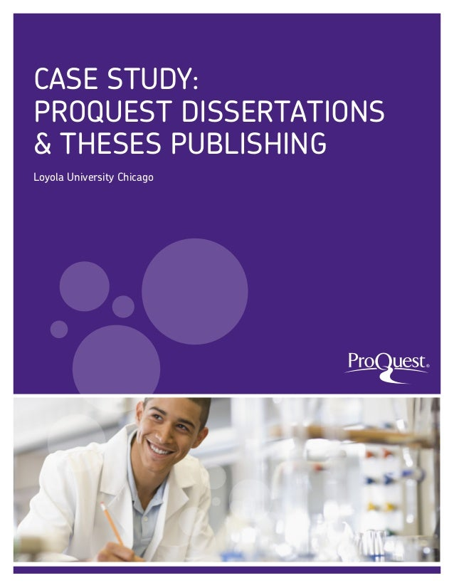 ProQuest/UMI Publishing Instructions