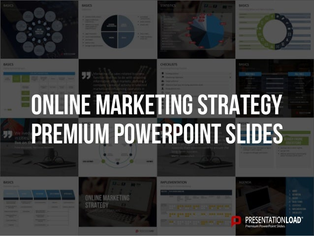 PREMIUM POWERPOINT SLIDES Online marketing strategy