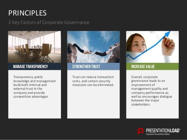 corporate governance ppt slide template