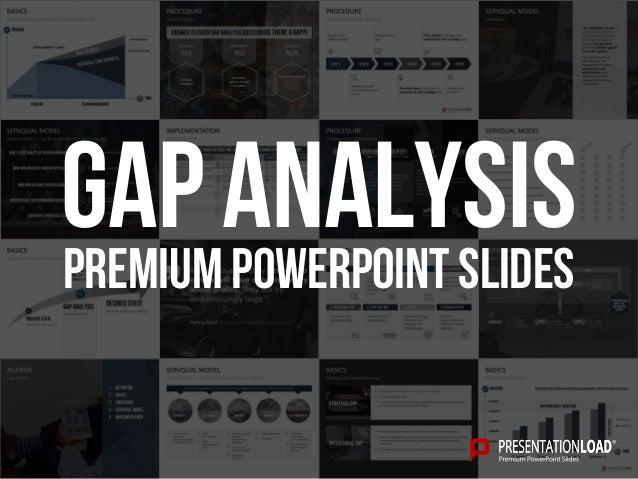PREMIUM POWERPOINT SLIDES Gap Analysis