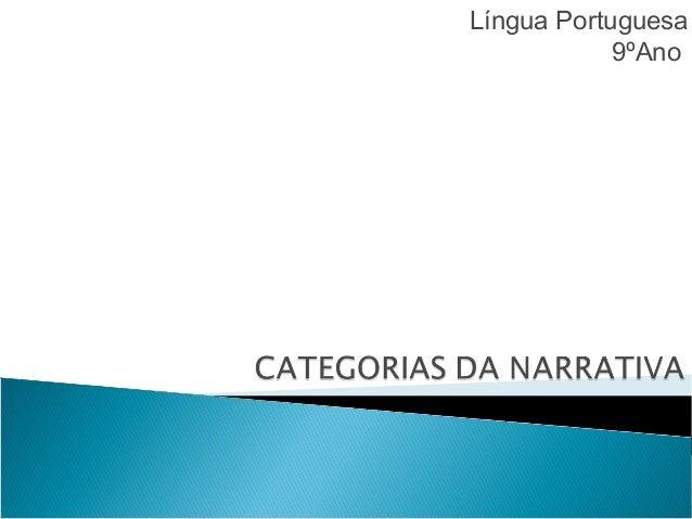 Língua Portuguesa 9ºAno