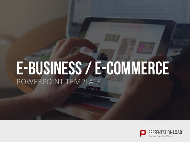 e-business / e-commerce ppt slide template, Presentation templates
