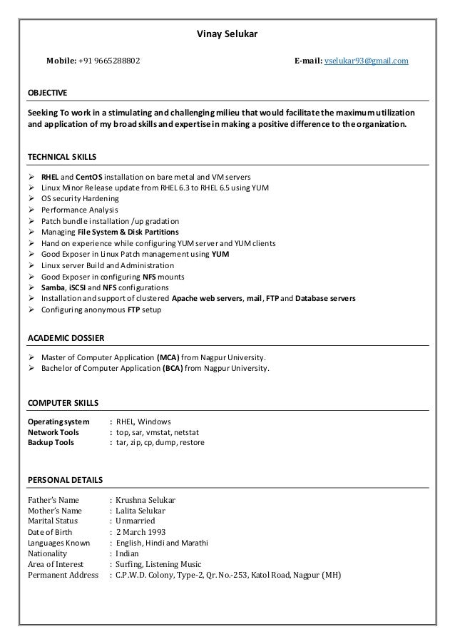 linux resume