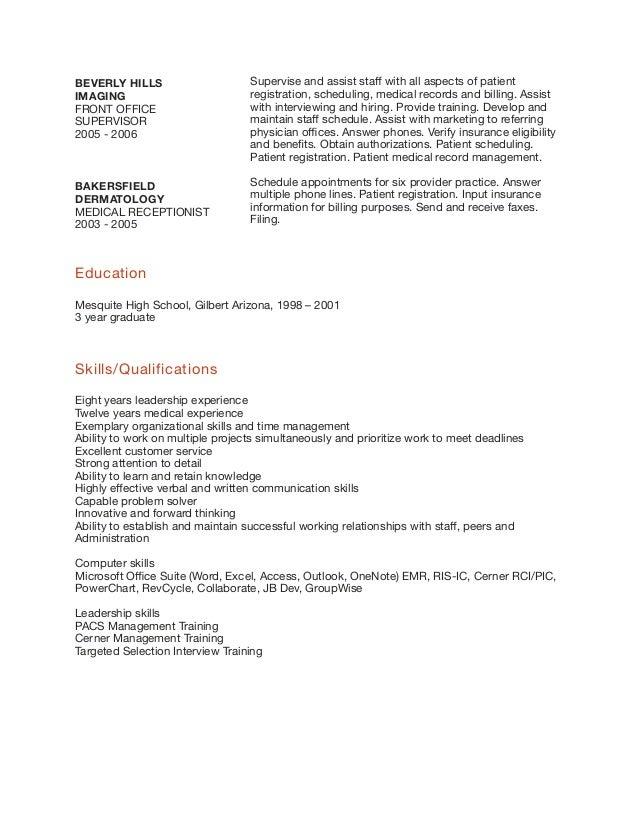 Emergency Room Registrar Sample Resume Paralegal Resume Objective Registration  Clerk Hospital Resume Top Interview Questions And