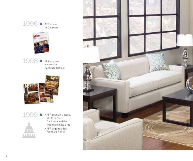 5; 6. 6 1998 1999 AFR Acquires Nationwide Furniture ...