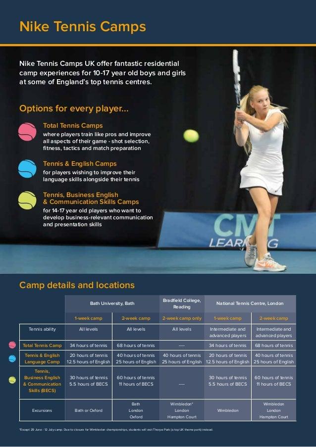 2015 Nike Tennis Brochure - Premier Tennis (PT details)