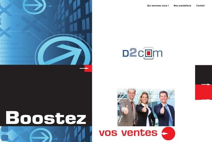 Développement commercial & communication                                                          Acceuil   Qui sommes nou...