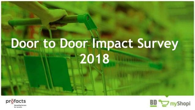 Door to Door Impact Survey 2018
