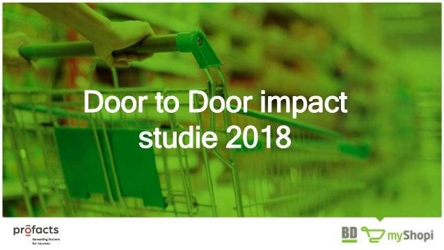 Door to Door impact studie 2018