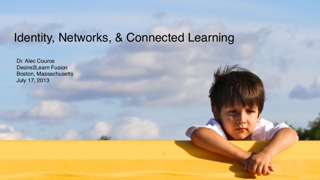 Identity, Networks, and Connected Learning