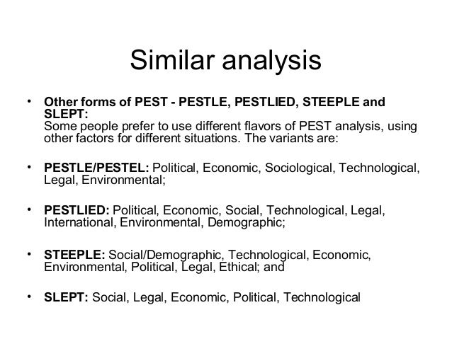 Pest analysis for sri lanka hotels industry