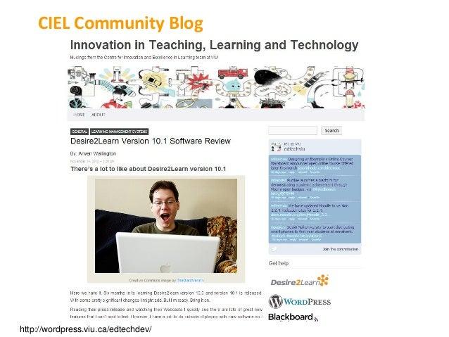 CIEL Community Bloghttp://wordpress.viu.ca/edtechdev/