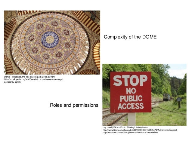 Complexity of the DOMEDome - Wikipedia, the free encyclopedia : taken from -http://en.wikipedia.org/wiki/Domehttp://creati...