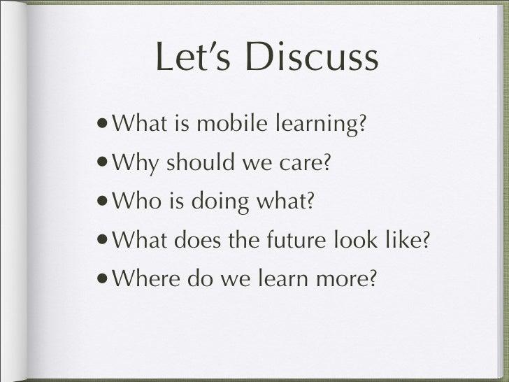 Mobile Learning for Educators Slide 2