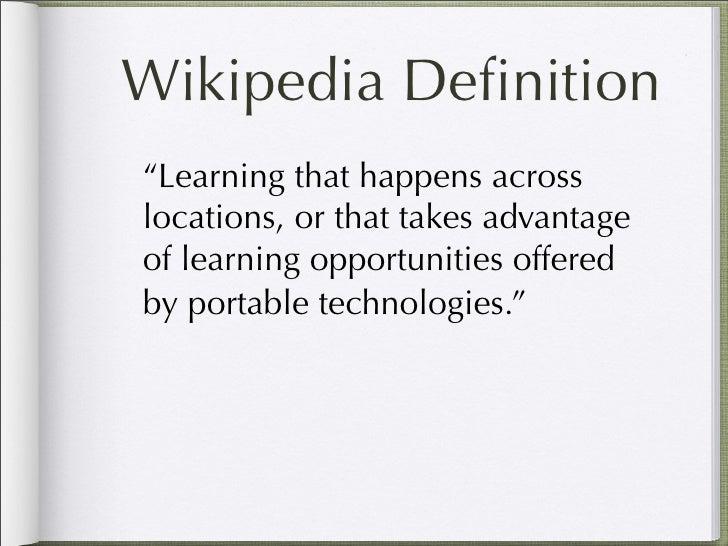 Mobile Learning for Educators Slide 3