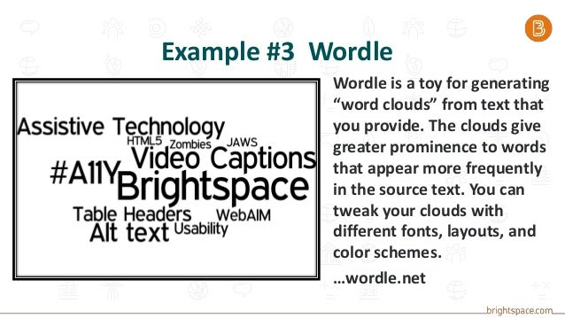 Using Web-based Tools in Brightspace, with an Eye on Accessibility ac…