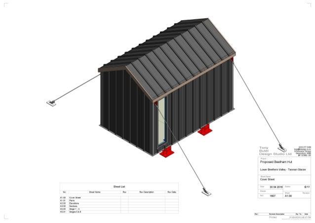 Derek Chinn: Huts – NZ context (Mid-Tasman fly-in hut)